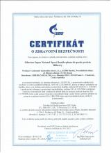 Certificate of safety<br>Double-phase-hu-grade proteine (bilberry) Siberian Super Natural Sport. Double-phase hi-grade protein (bilberry)