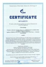Certificate of safety<br>Chronolong Doplněk stravy - Chronolong, 30 kapslí