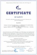 Certificate of safety Sada DS Fitness Catalyst. Karnitrin - Kup 3, získej 4!