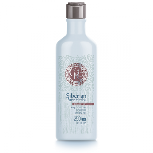 Siberian Pure Herbs Collection. Luxury Conditioner  for Colored and Dry Hair, 250 ml 401780