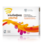 Food supplement Elbifid, 15 capsules