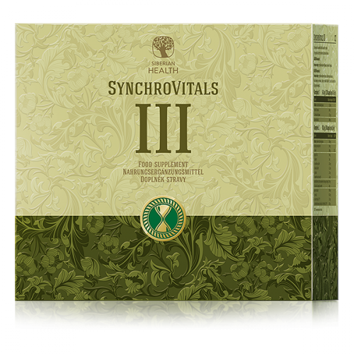 Food supplement SynchroVitals III, 150 capsules 500072