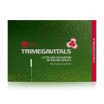 Food supplement Trimegavitals. Lutein and Zeaxanthin, 30 capsules